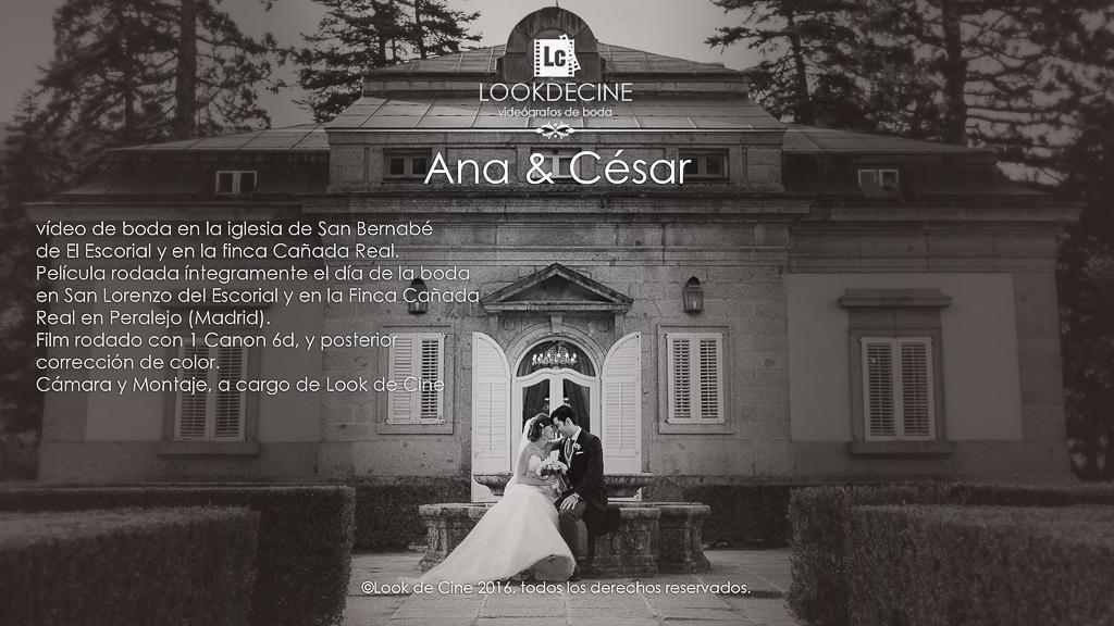 boda en San Bernabé El Escorial y en la finca Cañada Real