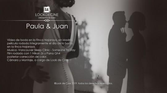 vídeo de boda en la Finca Najaraya